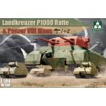 1/144 Landkreuzer P1000 Ratte, Takom