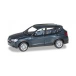 1/87 BMW X3™, saphir black metallic HERPA