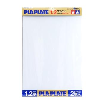 Tamiya PLA plaat 1.2mm B4 2tk