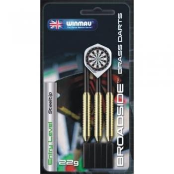 Winmau Broadside Darts Brass 22g steel tip