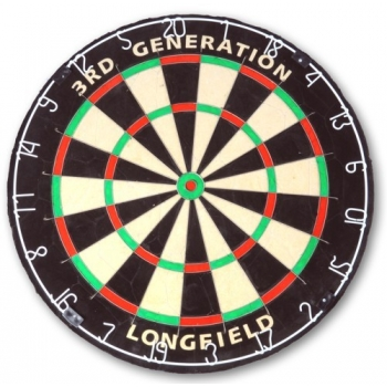 Noolelaud Dartbord 3rd.Generation Bristle Longfield