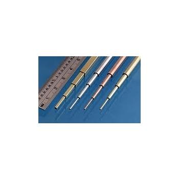 Alumiiniumtorud Slide Fit Aluminium Pack, 0.4, 0.6, 0.8 & 1.0, 4tk. , 305mm Albion Metals