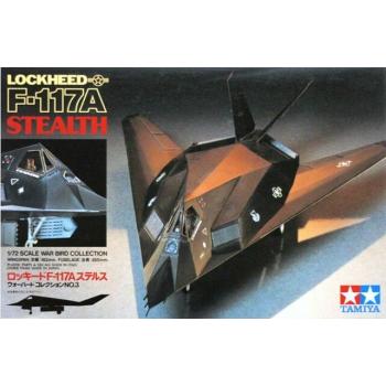 1/72 Tamiya - Lockheed F-117A Stealth