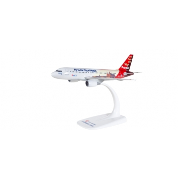"""1/200 CSA Czech Airlines Airbus A319 """"Prague - City of Magic"""" Snap-Fit"""