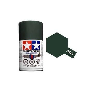 TAMIYA AS-3 GRAY GREEN(LUFTWAFFE)  spray