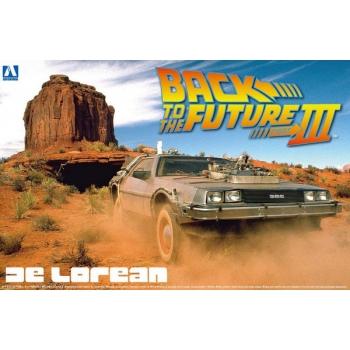 1/24 Aoshima DE LOREAN DMC 12 Back to the Future III