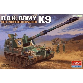 1/35 ACADEMY K9 KÕU (ROK Army Self-Propelled Howitzer)