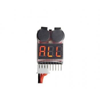 LiPo Alarm 1-8S