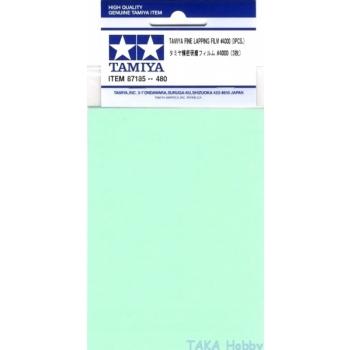 Tamiya Fine Lapping Film #4000 - 3tk