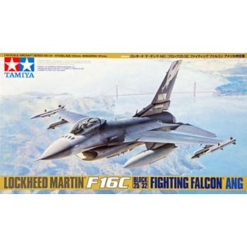 1/48 Tamiya Lockheed Martin F-16C (Block 25/32) Fighting Falcon ANG
