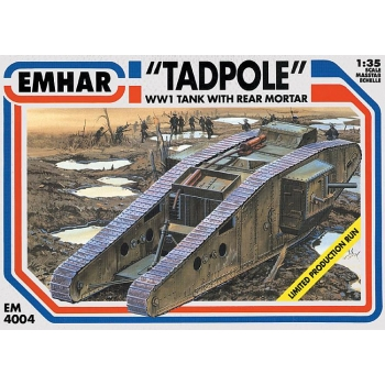 1/35 EMHAR WWI Tadpole Tank