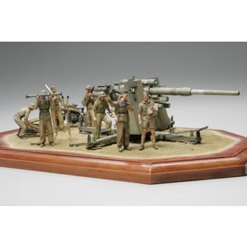 "1/35 TAMIYA German 88mm Gun Flak36 - ""North African Campaign"""
