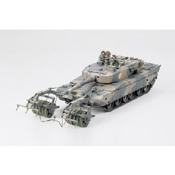 1/35 TAMIYA Type 90 Tank w/Mine Roller