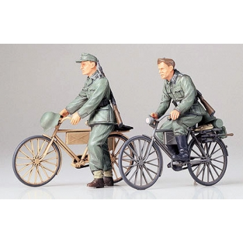 1/35 TAMIYA German Soldiers with Bicycles