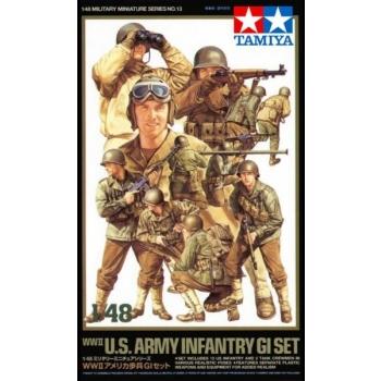 1/48TAMIYA US Infantry GI set