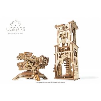 UGEARS Archballista ja Vahitorn