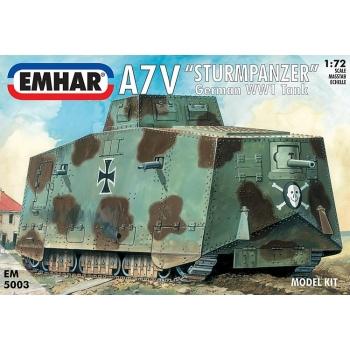 1/72 EMHAR WWI A7V Deutscher Panzer