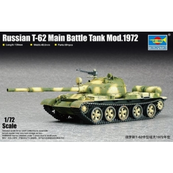 1/72 TRUMPETER T-62, Modell 1972
