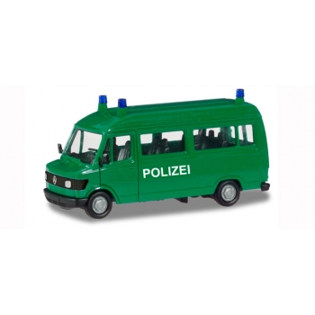 "1/87 Mercedes-Benz T1 bus ""Police"" Herpa"