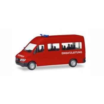 "1/87 Mercedes-Benz sprinter bus ""fire department"" Herpa"