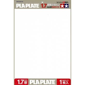 Tamiya läbipaistev PLA plaat 1,7mm B4 1tk