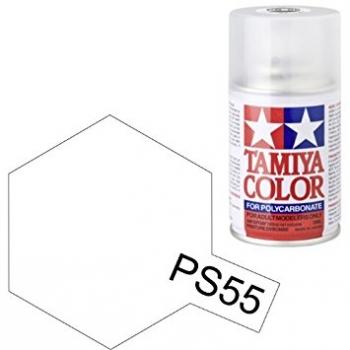 Tamiya PS-55 läbipaistev matt lexan spray