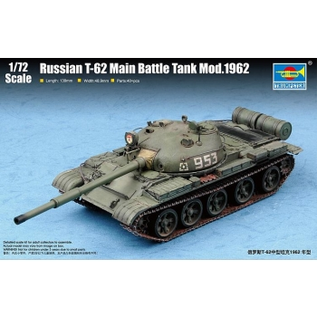 1/72 TRUMPETER T-62, Modell 1962
