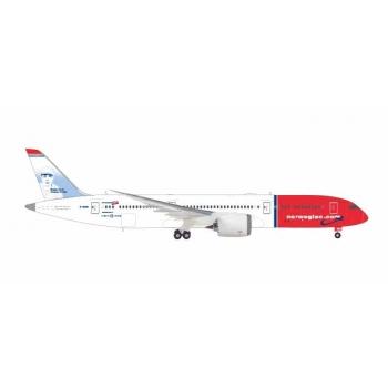 "1/200 Norwegian Boeing 787-9 Dreamliner - G-CKMU ""Babe Ruth"" Herpa"