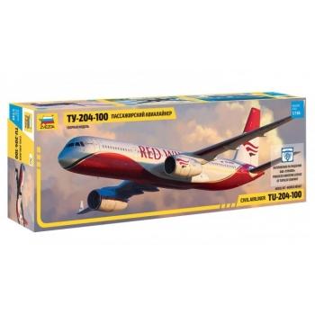 1/144 ZVEZDA TU-204-100