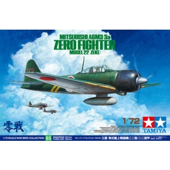 1/72 TAMIYA Mitsubishi A6M3/3a Zero Fighter Model 22 (Zeke)