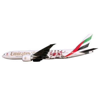 "1/200 Emirates Boeing 777-200LR ""Arsenal London"" SNAP-FIT"