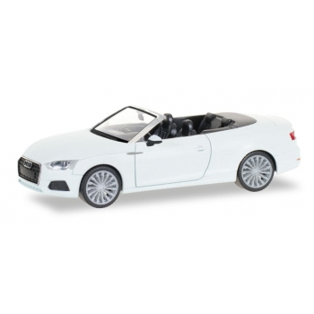 1/87  Audi A5 convertible, ibis white Herpa