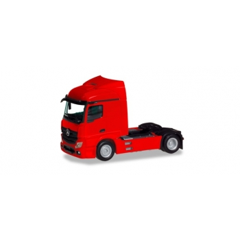 1/87 Mercedes-Benz Actros Streamspace 2.3 trailer 2-axle, red  HERPA