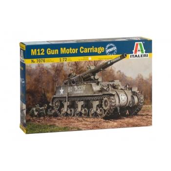 1/72 ITALERI M12 Gun Motor Carriage