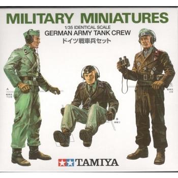 1/35 German Army Tank Crew Tamiya