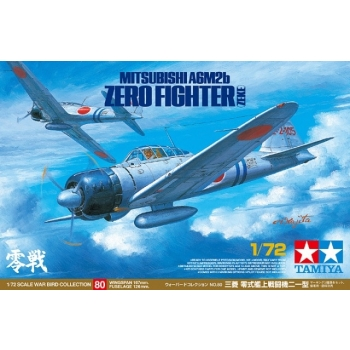 1/72 Mitsubishi A6M2b Zero Fighter (Zeke) Tamiya