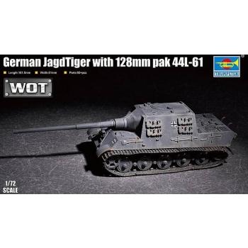 1/72 TRUMPETER JagdTiger 128mm pak