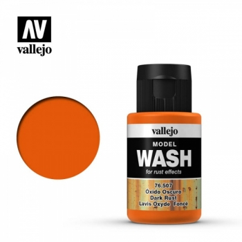 Model Wash Dark Rust 35ml
