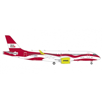 "1/200 airBaltic Airbus A220-300 ""Latvia 100"""