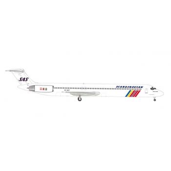 "1/500 SAS Scandinavian Airlines McDonnell Douglas MD-82 ""Hake Viking"""