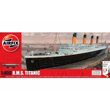 1/400 R.M.S Titanic kinkekomplekt Airfix