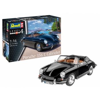 1/16 REVELL Porsche 356 C Cabriolet