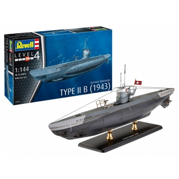 1/144 REVELL German Submarine Type IIB