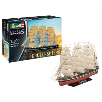 1/200 REVELL Russian Barque KRUZENSHTERN