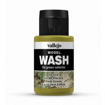 Vallejo Model Wash Dark Green 35ml