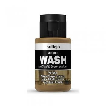 Vallejo Model Wash Dark Khaki Green 35ml