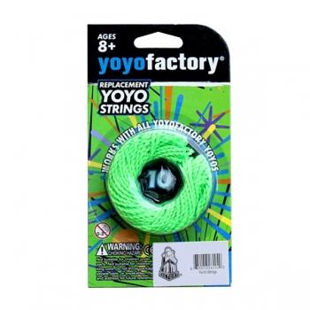 YO-YO nööride komplekt 10tk. rohelised