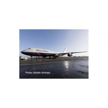 "1/500 British Airways Boeing 747-400 – 100th anniversary Landor Heritage Design ""City of Swansea"""
