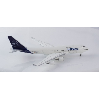 1/500 Lufthansa Boeing 747-400 - new 2018 colors