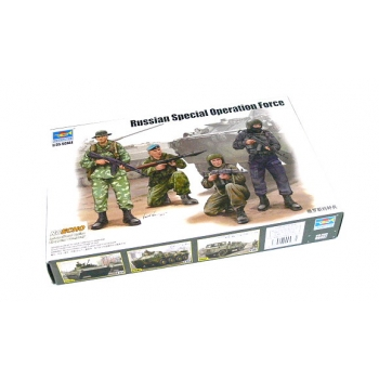 1/35 TRUMPETER Russian Special Force